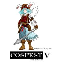 Mascot Design for Cosfest V by takahan