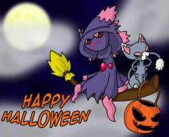Happy Pokehalloween by DrkZlave
