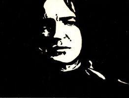 Alan Rickman- Severus Snape by WillRepent