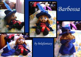 barbossa plushie by belafantasy