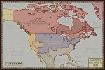 North America in 1883 (Alt History) - Steamclock by McMagnanimus