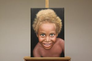 Papua New Guinea Oil Painting by Oil-Gallery
