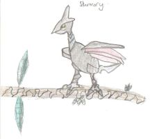 Quick picture Skarmory by Sakurarules