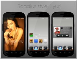Raadius style by yuyudroid