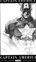 captain america sketch by acts2028