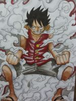 Luffy gear second - COPIC by DannyFCool