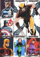 Marvel Beginnings 3 set 9 by wardogs101