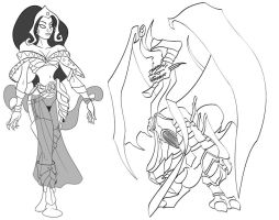 Planeswalkersketches by RoCueto
