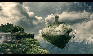 Floating Island by Olgola