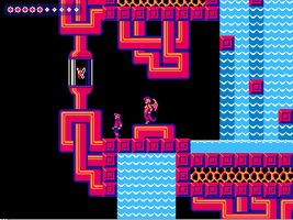 Experimental Palette Unfinished Game Screenshot by JustinGameDesign