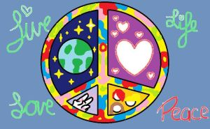 Awesome Peace Sign by IWantAnEnderman