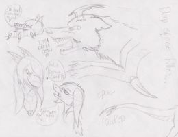 Derp sketches are all derp.. :D by LeoSayaka