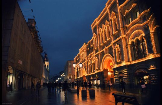 Moscow by hellnicki