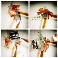Pencils crash by Kassworkshop