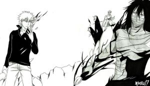 Bleach Ichigo'n'co - Dark Battle by Blychee