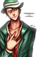 Diarmuid Doodle by Beverii