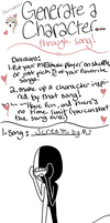 Song Character Meme by DJ-Funtime