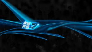 Windows 7 Blue Tentacle by sharkurban