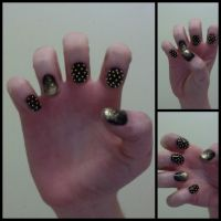 New Years Nail Art! by ThereIsNoMagicCure