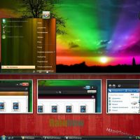 theme Rainbow for Vista by tochpcru