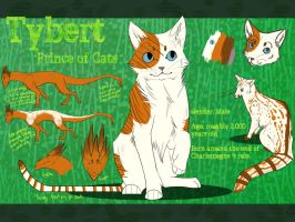 Tybert Reference Sheet by Foxwhisper