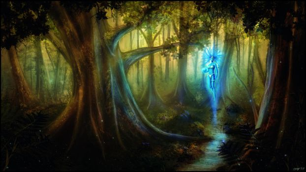 magical forest by gugo78