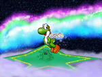 flying high above star world by yoshi888