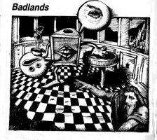 Badland s by Crazywulf