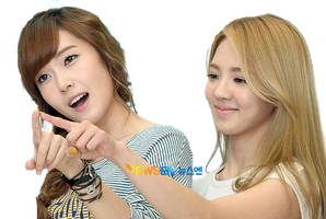 SNSD Hyoyeon and Jessica - HyoSic ~PNG~ by JaslynKpopPngs