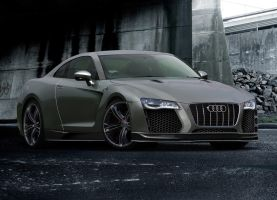 Audi-Coupe concept by Morfiuss