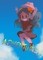 adventure aradia by milkybee