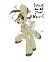 White Tailed Deer OTA CLOSED by ThePotato-Queen