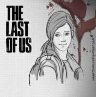 The Last of Us: Ellie by Hanatsumi