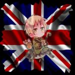 Bordered Chibi England by invadersharie