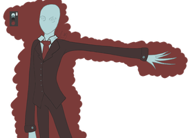 Slenderman (Color Palette #2) by AbiThePerson