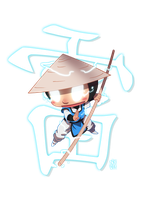 Chibi Raiden by MihaiRadu