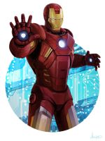 The Iron Avenger by mkmatsumoto
