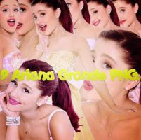 Ariana Grande Pack PNG. by CeciGB
