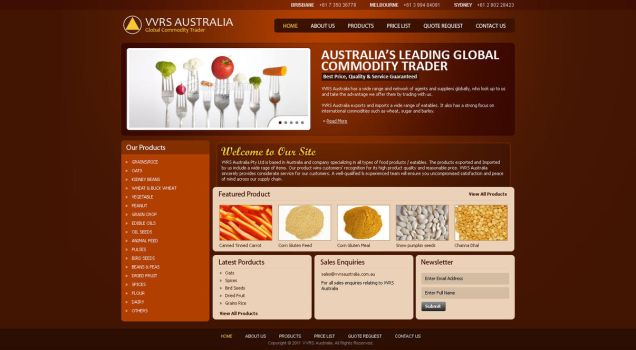 VVRS AUSTRALIA - Food Products by mehtab123