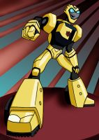 Transformers Anmt: Bumblebee by mystryl-shada