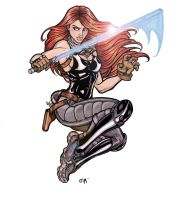 Mara Jade 1 by CrimsonArtz