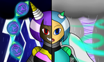 Stormy Opposites by SnowmanEX711