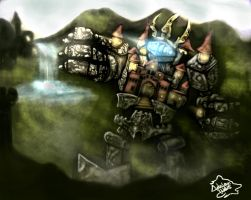 Fortress Blitzcrank by AdrianWolve