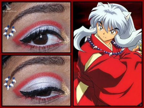 Eye Design: Inuyasha by MakeupSiren