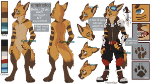 Empiredog (Rollo) Reference Sheet by empiredog