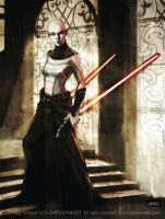 Asajj Ventress by LaminIllustration