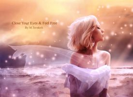 close your eyes and feel free by DigitalDreams-Art