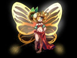Glasswing butterfly Bell Blossom OTA OPEN by StarlightSuper-nova
