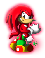 Classic Knuckles by SilverSonic44