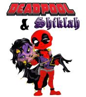 Deadpool Shiklah-final- by silver-wolf07